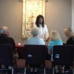 Jesus serving Communion